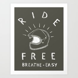 breathe easy Art Print