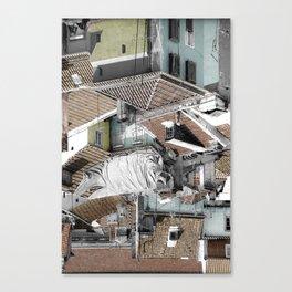 ROOFTOPS - LISBON (PORTUGAL) Canvas Print