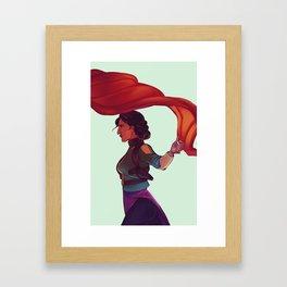 Fina Framed Art Print