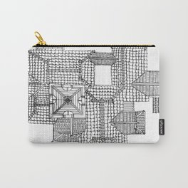 Taiwanese roofscapes 01 Carry-All Pouch