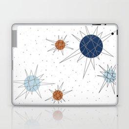 Atomic Stars Blue & Orange Laptop & iPad Skin