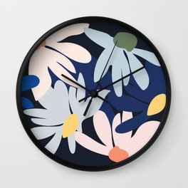 Blooms of hope Wall Clock