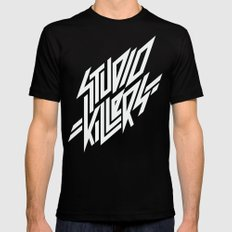 Studio Killers Mens Fitted Tee LARGE Black