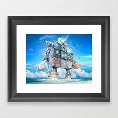 The Bitcoin Gameday Machine Framed Art Print