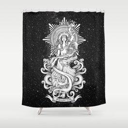 Aquarius (horoscope sign) Shower Curtain
