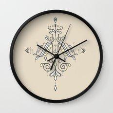 TIOH THREE Wall Clock