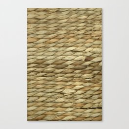 Weaved texture Canvas Print