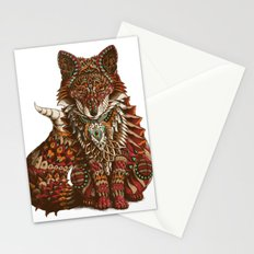 Red Fox (Color Version) Stationery Cards