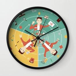Design Process Wall Clock