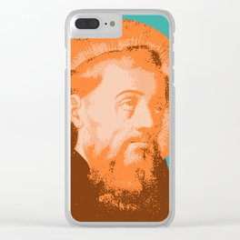 Saint Augustine Clear iPhone Case