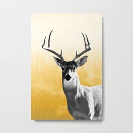 Deer Art Print Metal Print