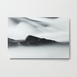 Rapids on Sava river Metal Print