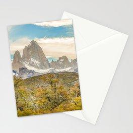 El Chalten, Patagonia, Argentina Stationery Cards