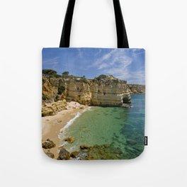 Small cove on the Algarve, Portugal Tote Bag