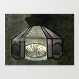 Kitchen Light Canvas Print