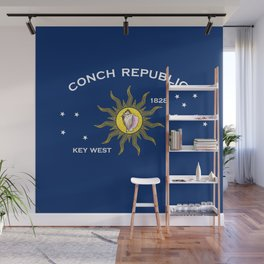 Conch Republic Flag Wall Mural