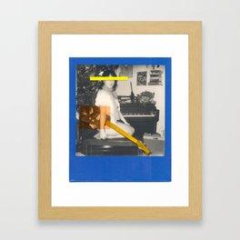 BLUE WITHOUT U Framed Art Print