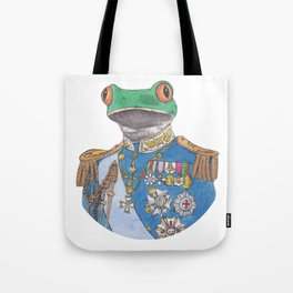Illustrious Frog Tote Bag