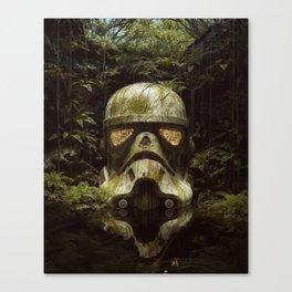 The Last Trooper Canvas Print