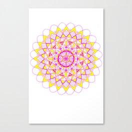 pinkAndyellow Canvas Print