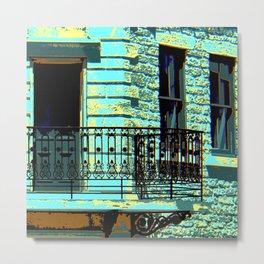 Juliet - Blue Metal Print
