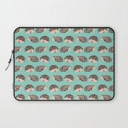 Hedgehog Turquoise Laptop Sleeve