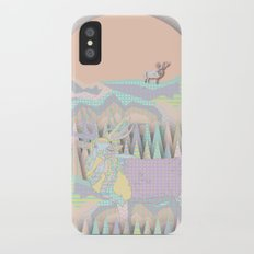 Deer Forest iPhone X Slim Case