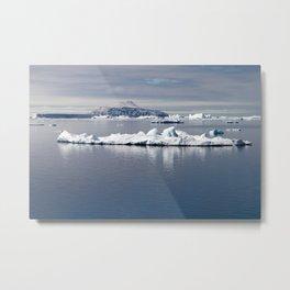 Antarctica landscape Metal Print