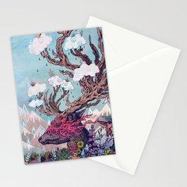 Journeying Spirit (deer) Stationery Cards