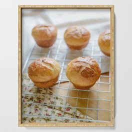 Baked sweet buns Serving Tray