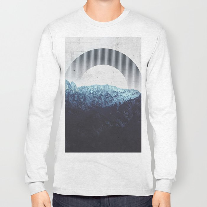 Through the Mountains Long Sleeve T-shirt