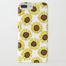 Sunflowers are the New Roses! - White iPhone Case