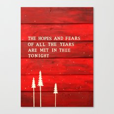 Hopes and Fears Canvas Print