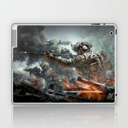 US Marines Devil-Dogs are marching on Laptop & iPad Skin