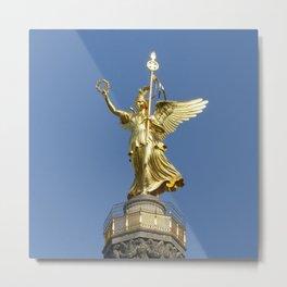 Victory Column (Siegessaeule), Grosser Stern, Berlin Metal Print