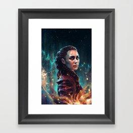 The Commander Framed Art Print