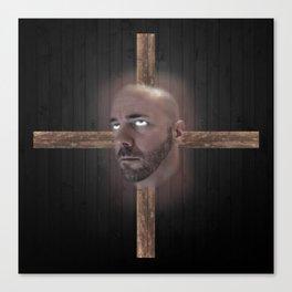 Crucifixed Canvas Print