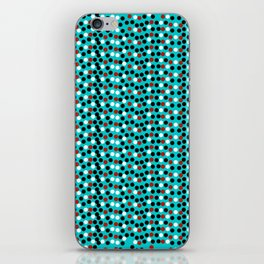 Confetti abstract print iPhone Skin
