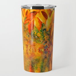 Autumn background Travel Mug