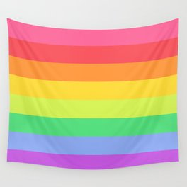 Love the Rainbows Wall Tapestry