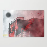 silent hill Canvas Prints featuring Silent Hill by Nowherephotography