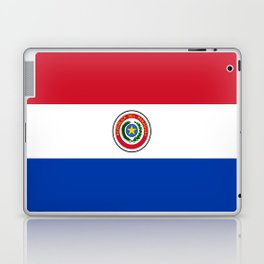flag of paraguay -paraguyan,asuncion,spanish, south america, latin america,pan flute,coffee,forest Laptop & iPad Skin