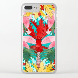Tropicana Clear iPhone Case