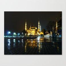 Istanbul night (Turkey 2013) Canvas Print