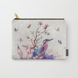 FLORAL  ALCEDO ATTHIS Carry-All Pouch