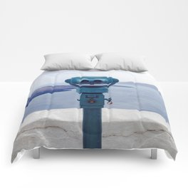 Happy Lookoutman Comforters