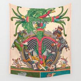 Tlaxiaco Cocijo Wall Tapestry