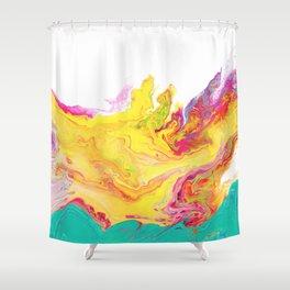 Phoenix Fire Shower Curtain