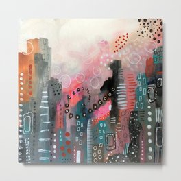 Magical City Metal Print