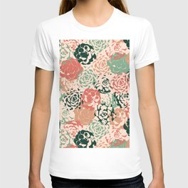 Stamped Succulents T-shirt